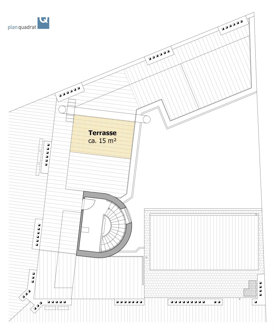 Terrassen-Zuordnungsplan