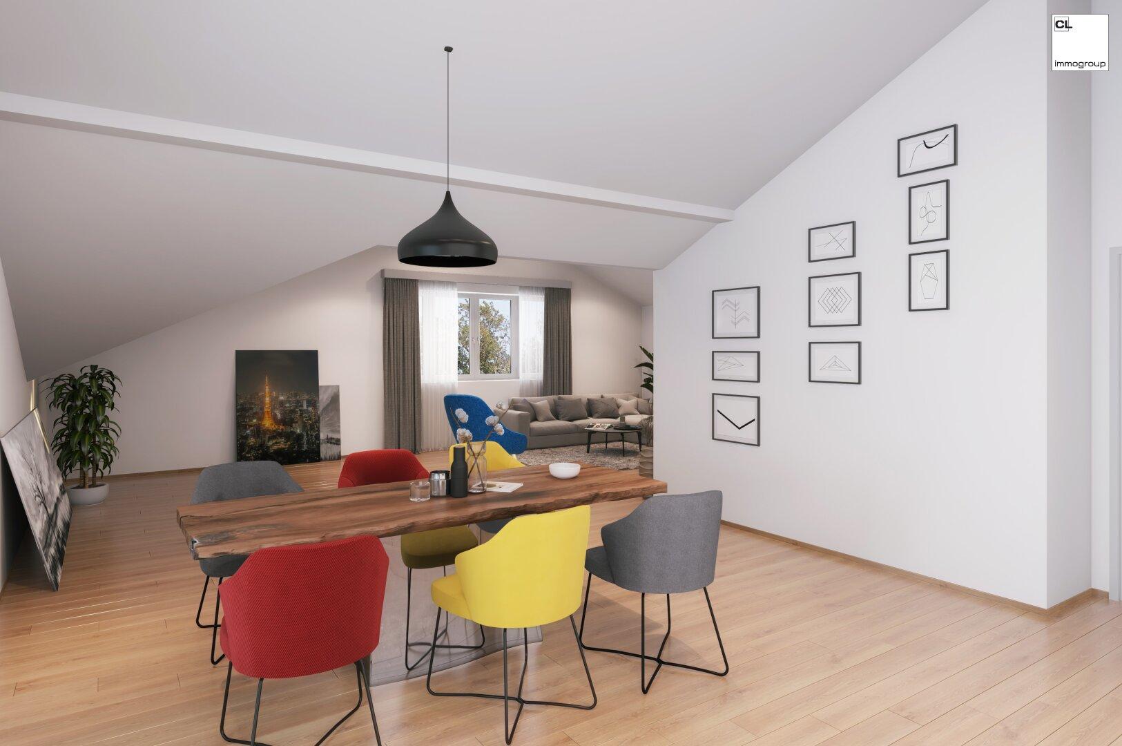 Beispielfoto für eine Einrichtung im Wohn-Essbereich