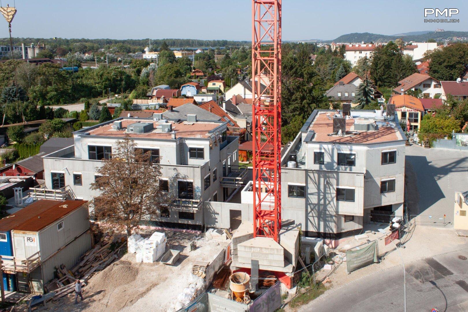 Baufortschritt am 21.09.2020