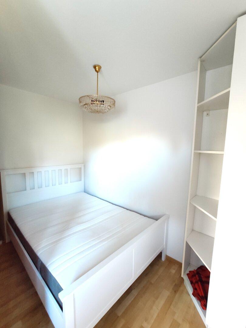 Doppelbett, Naturholz
