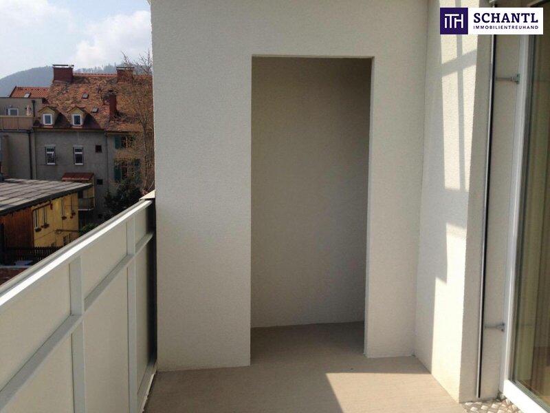 Ab ins Dachgeschoss mit großer Sonnenterrasse + 3-Zimmer + stylisch & modern in 8020 Graz - Nähe FH Joanneum! /  / 8020Graz / Bild 9
