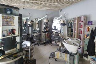 Gut eingerichtetes Friseur Geschäft in guter Lage