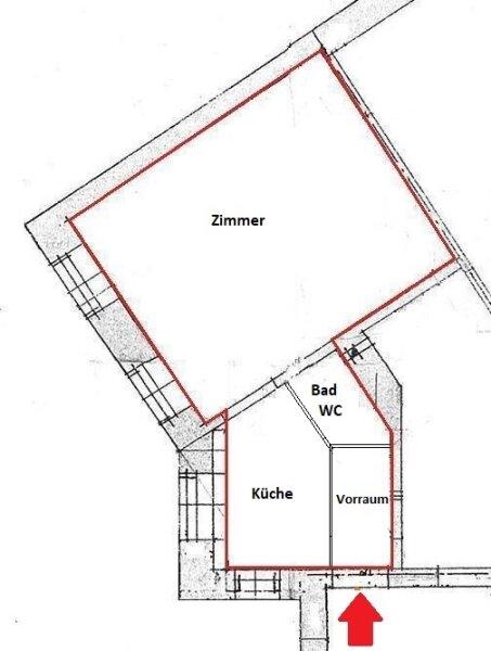 HOFSEITIGE ALTBAUWOHNUNG - 1 Zimmer - Parkett - U3 NÄHE /  / 1140Wien / Bild 3