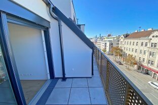 ERSTBEZUG, klimatisierte Dachgeschoss-Whg.+ Terrasse! inkl. Warmwasser und Heizung