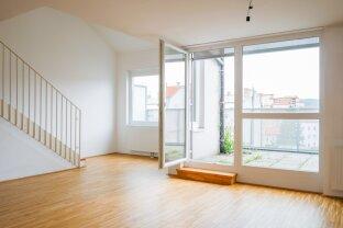 Provisionsfrei für den Mieter: 4-Zimmer-Neubauwohnung mit schönen Außenflächen nahe Bahnhof Floridsdorf