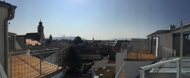 Erstbezug! Helle 3-Zimmer Wohnung mit Terrasse und traumhaften Ausblick - Zentrum Korneuburg /  / 2100Korneuburg / Bild 3