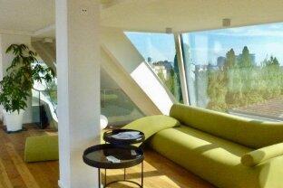 Sensationeller Luxus-Dachgeschoß-Traum der Superlative mit herrlichen Ausblick beim DONAUKANAL-SERVITENVIERTEL - absolutes Unikat!