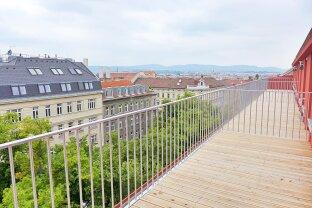 ERSTBEZUG - 92 m² Dachterrasse - 2 Zimmer im Stilaltbau - Nähe Stadthalle