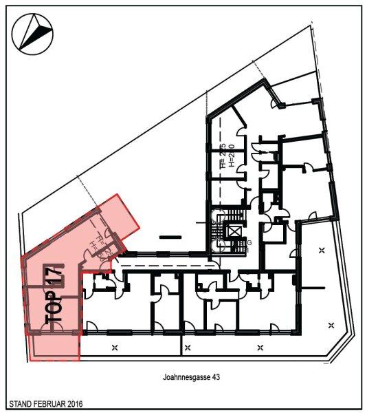 Moderne Neubaumietwohnung mit Terrasse in der Johannesgasse 43 Top 17, Wolkersdorf /  / 2120Wolkersdorf im Weinviertel / Bild 2