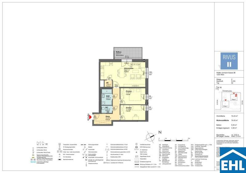RIVUS II - Lichtdurchflutete Vorsorgewohnungen im Herzen vom 23. Bezirk /  / 1230Wien / Bild 4