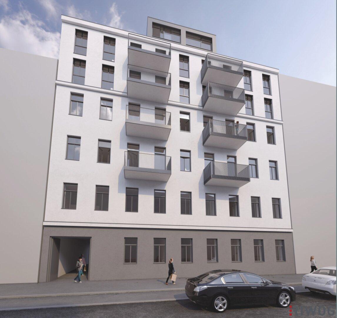 ++ MARCHFELD RESIDENZ ++ Exklusive Erstbezug-Wohnungen in aufstrebender Lage (Projektansicht)