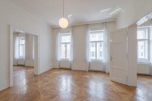 ab sofort beziehbar: charmante, großzügige 3-Zimmer-Altbauwohnung (Margaretenstraße)!