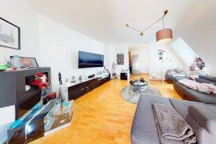 10,Wunderschöne helle Dachgeschosswohnung mit 3 Zimmer und Blick ins Grüne.