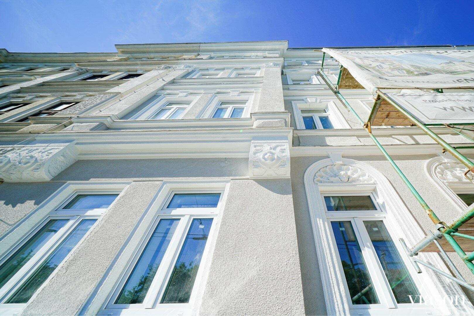 Fassadenansicht Ruckergasse