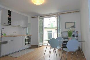 Schöne Wohnung mit Loggia in Augartennähe!