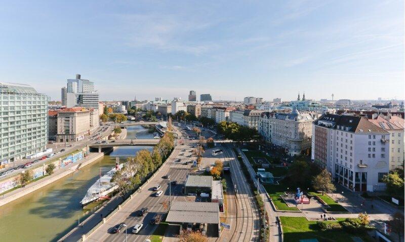 *Top sanierte 2-Zimmer-Wohnung mit 150m² Gemeinschaftsdachterrasse 360 grad Wienblick! /  / 1010Wien / Bild 0