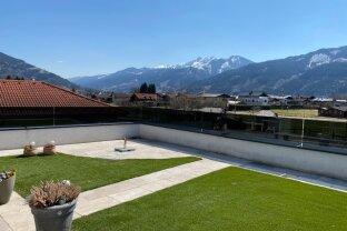 5700 Zell am SEE: Golfplatznähe !! 128m² 4 Zimmerwohnung mit ca. 26m² Terrasse, Weitblick, sehr sonnige und helle Wohnung !! Touristisch vermietbar !!