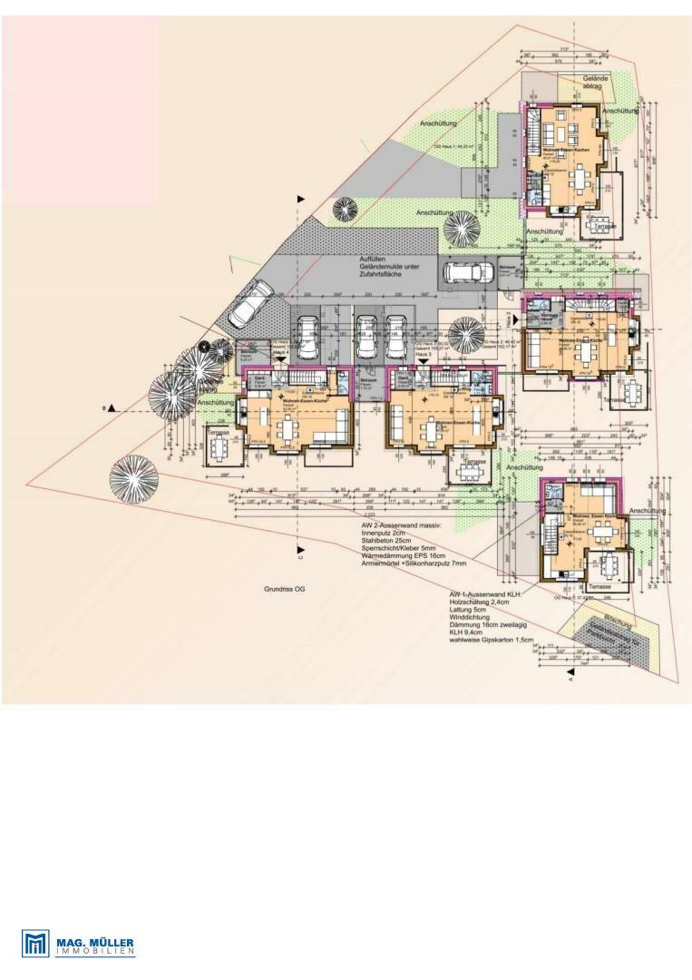 Plan gesamt Obergeschoss