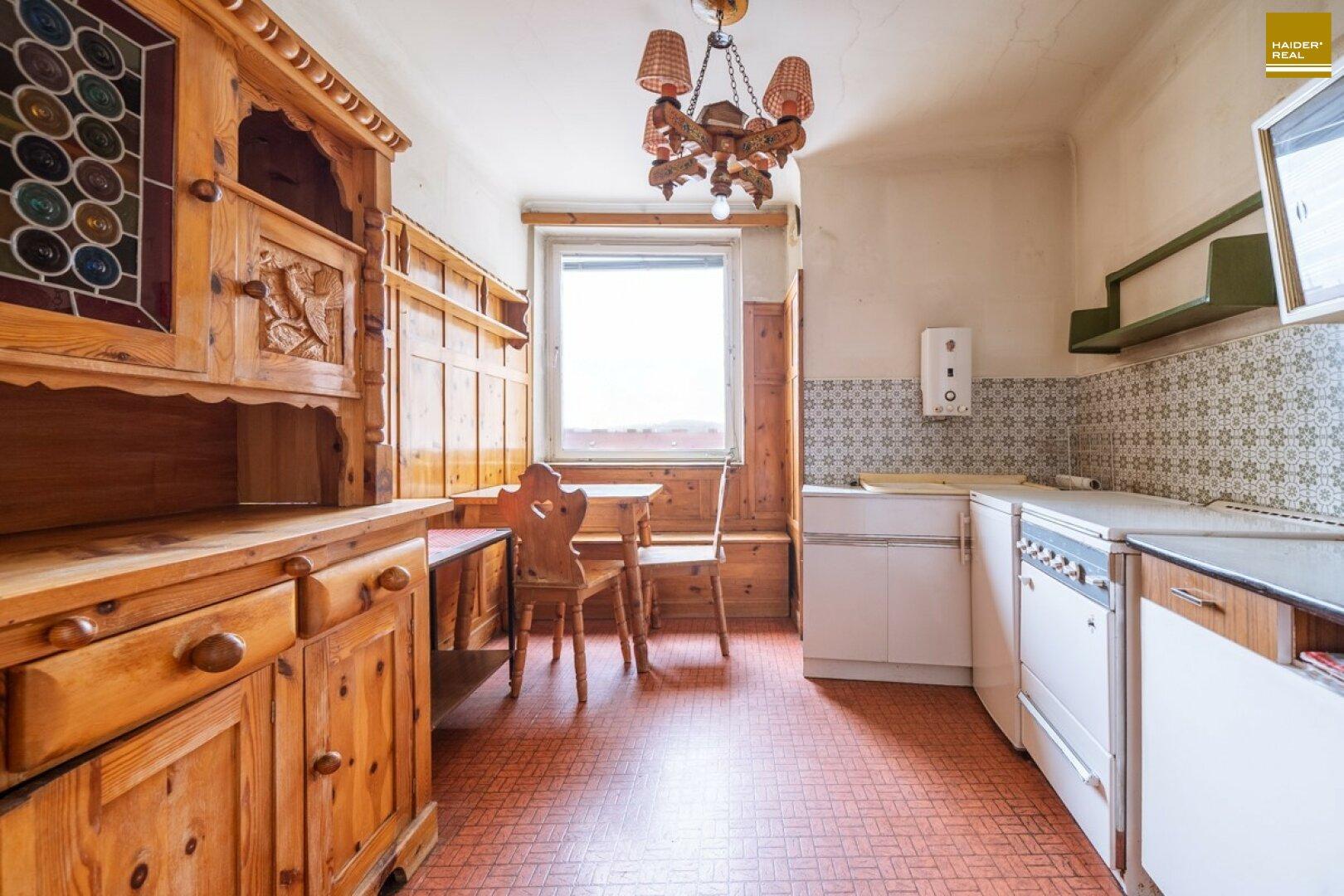 Helle Küche, Südausrichtung