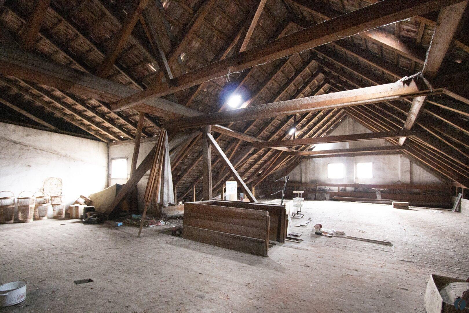 Dachboden im Nebengebäude