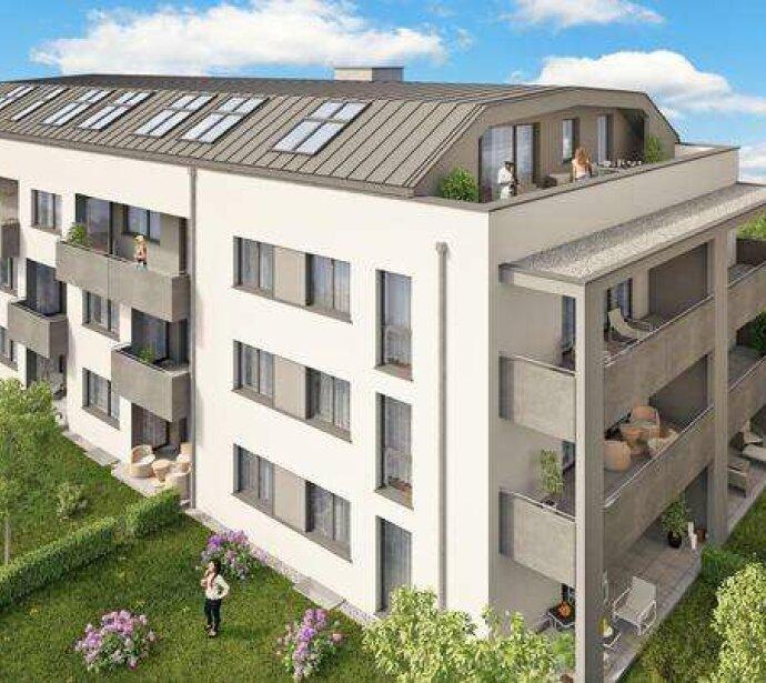 Welser Neubauprojekt in der Neustadt/Elisabethstrasse von 44m² bis 114m² ab € 113.540,-