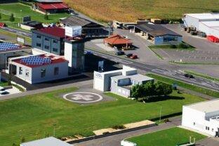 Бизнес-центр и вертолетная станция
