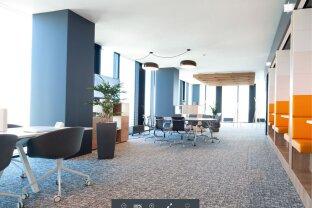 DC Tower,flexible komplett eingerichtete Büroflächen zu mieten,ab 14m²/Co-working ab 3m²,im höchsten Gebäude von Österreich! (Provisionsfrei)