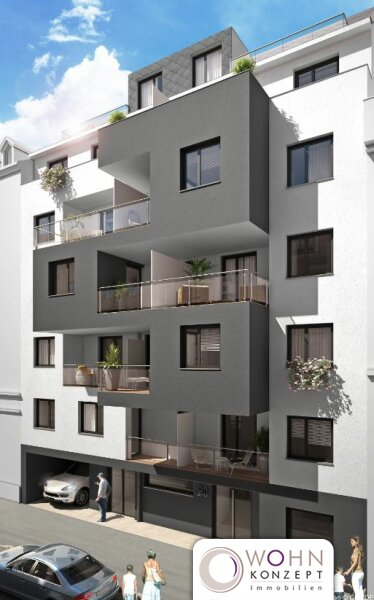 Single Apartment mit Balkon