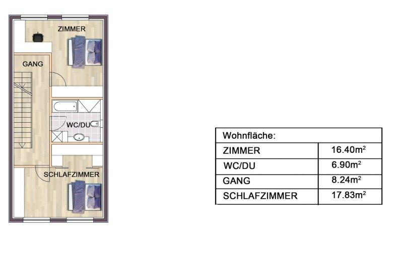 Erstbezug: herrliches, lichtverwöhntes Doppelhaus auf 3 Ebenen - 2 Min. nach Wien /  / 2301Groß-Enzersdorf / Bild 8