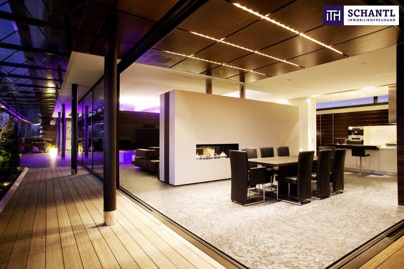 PHÄNOMENAL, EINZIGARTIG, ATEMBERAUBEND - Designer LUXUS-Penthouse mit Panoramablick + Riesige Terrassen + Indoor Pool + Sauna + Kamin + Ruhelage + drei tw. überbreite Tiefgaragenplätze uvm. in Graz! /  / 8045Graz-Andritz / Bild 4