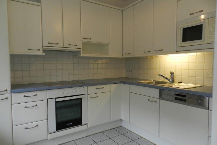 Sehr helle Küche