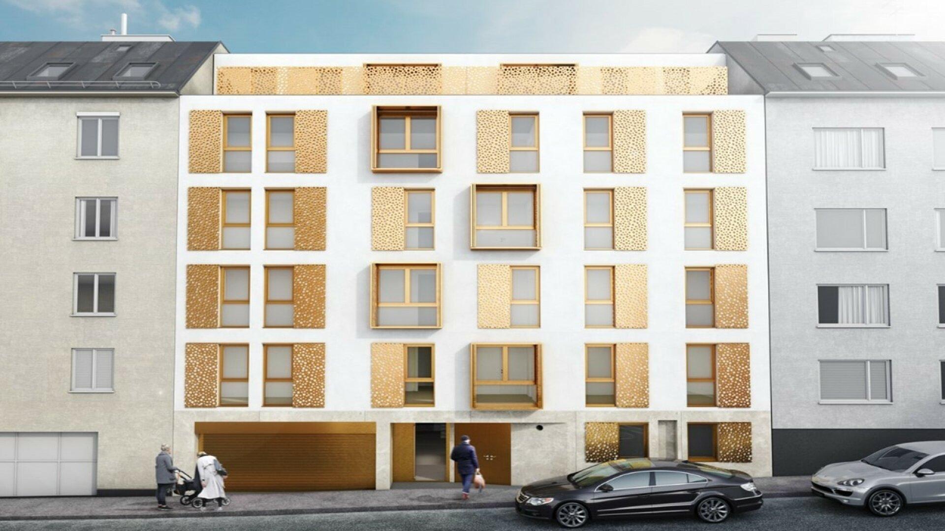 Urbanes Wohnen am Meidlinger Markt (Projektansicht)