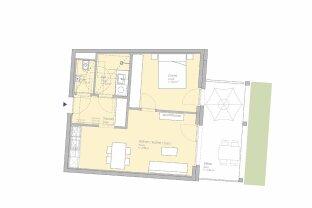 PROVISIONSFREI - 2-Zimmer-Erstbezugswohnung in der Smart City Graz
