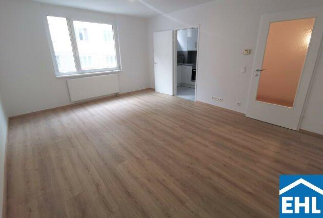 1-Zimmerwohnung mit neuer voll ausgestatteter Küche