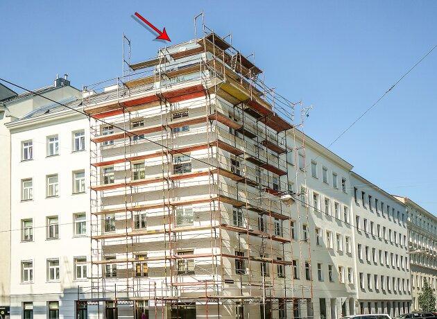 """Foto von NEU! ++ Erstbezug nähe """"Siebenbrunnenplatz"""": Exklusive ca. 155 m² DG- Wohnung mit Terrasse, 4 Zimmer, 1050 Wien (Top 35) ++"""
