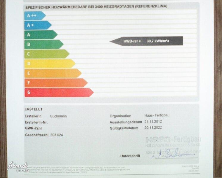 Niedrigenergie-Einfamilienhaus in ruhiger Wohnsiedlung! /  / 2441Mitterndorf an der Fischa / Bild 12