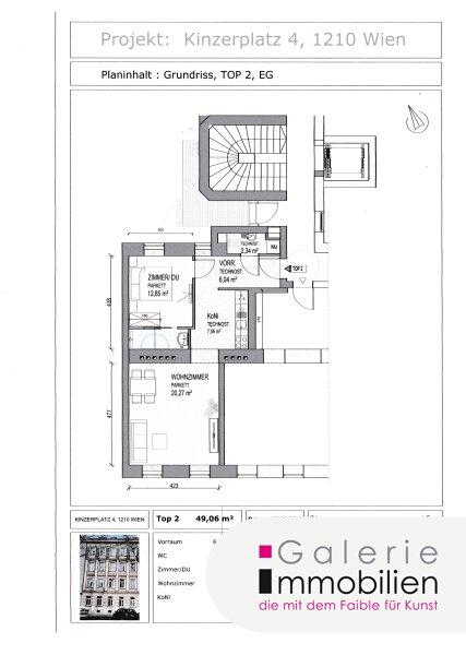 Nähe Alte Donau - Sonnige 2-Zimmer-Wohnung in generalsaniertem Gründerzeithaus Objekt_31835 Bild_238