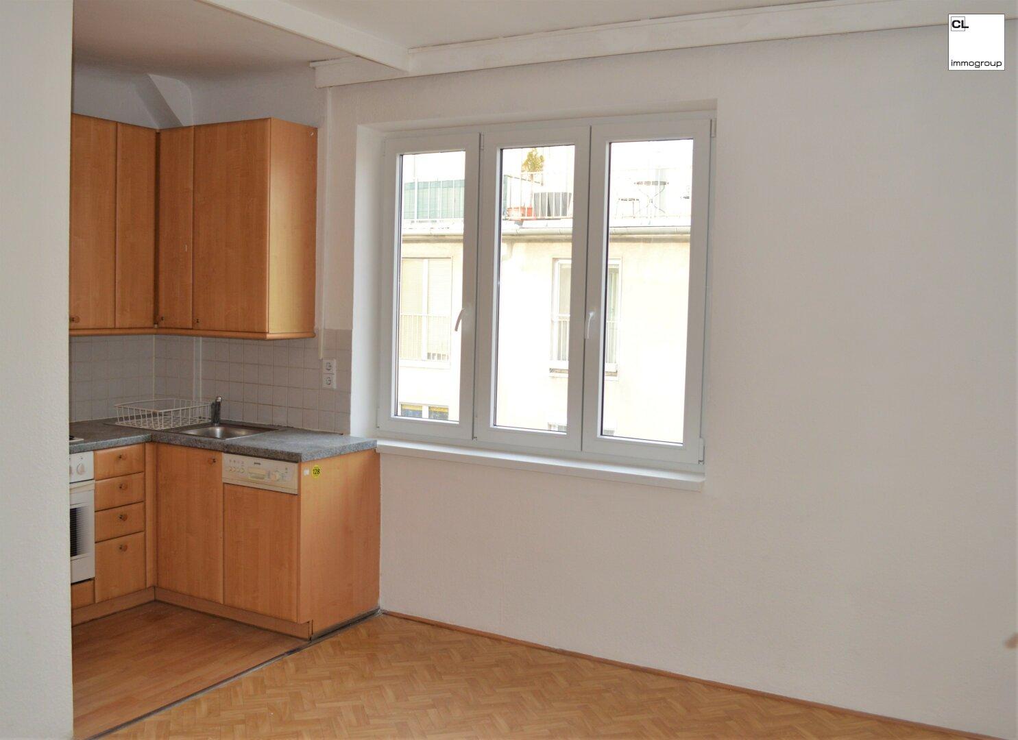 Kochnische in Zimmer 1