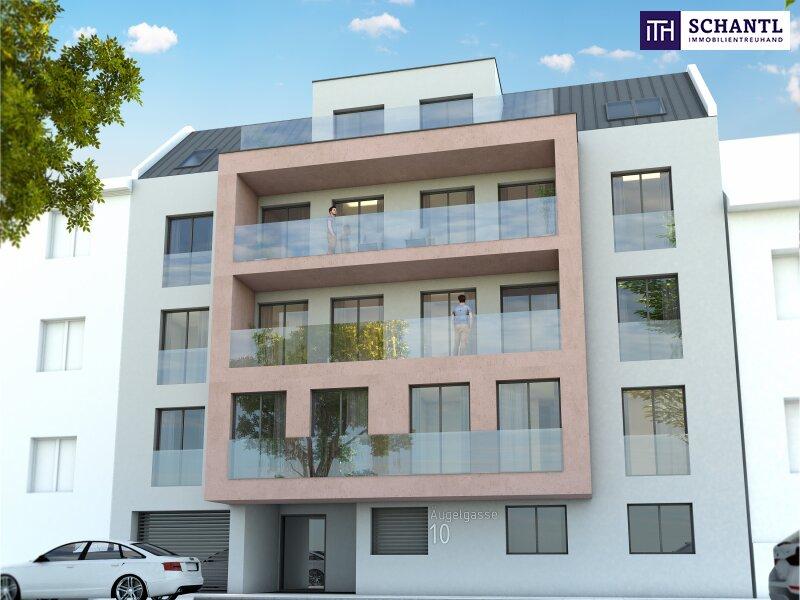 Perfekt aufgeteilte 3-Zimmer Wohnung mit großem Balkon! TOP Neubau - Erstbezug nahe am Wasser! Jetzt zugereifen! /  / 1210Wien / Bild 0