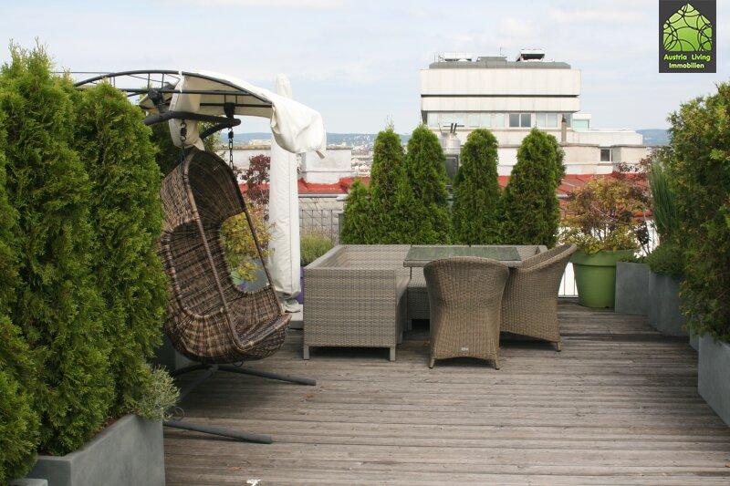 Tolle Dachgeschoßwohnung (eine Ebene) mit großer Terrasse/Rundumblick /  / 1050Wien / Bild 3