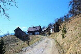 Die Gelegenheit! Autarkes Leben auf einem Bergbauernhof mit Panoramablick ins Ennstal