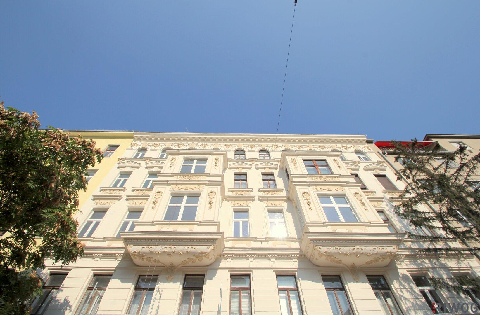 **VORGARTEN1020**  Dachgeschoss-Erstbezug mit großzügigen Terrassenflächen nahe der Donauinsel (Projektansicht)