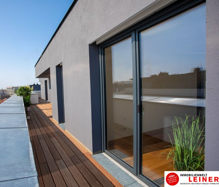 100 m² PENTHOUSE *UNBEFRISTET*Schwechat - 3 Zimmer Penthouse im Erstbezug mit 54 m² großer südseitiger Terrasse Objekt_9215 Bild_606