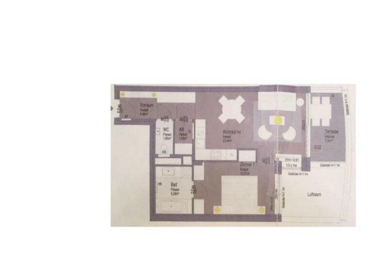 Neubau Erstbezug, Luxus 2 Zimmer Terassenwohnung am grünen Prater /  / 1020Wien / Bild 12