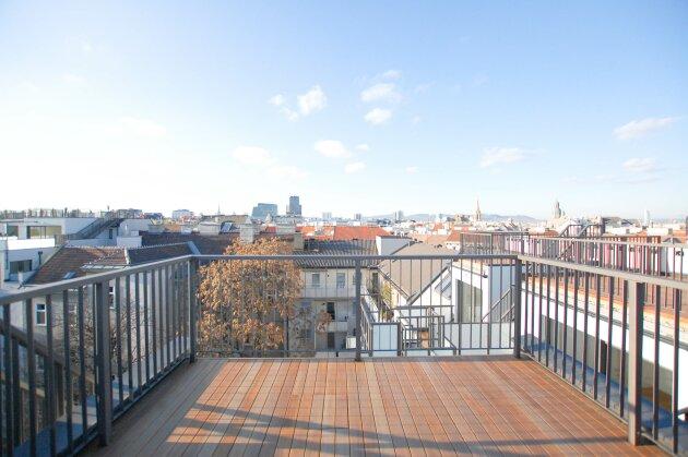 ZENTRUMSNAH - Rochusmarkt - ca. 154 m² - 4 Zimmer - 2 Terrassen - Markenküche - 10 Jahre befristet