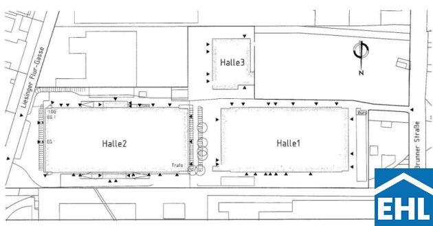 Übersicht Hallen