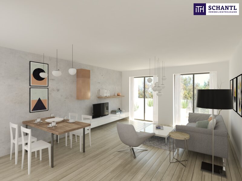 Lebensqualität pur! 2 Zimmer Wohnung mit großem hofseitigen Balkon! Ruhelage + TOP Neubau - Erstbezug! /  / 1210Wien / Bild 0
