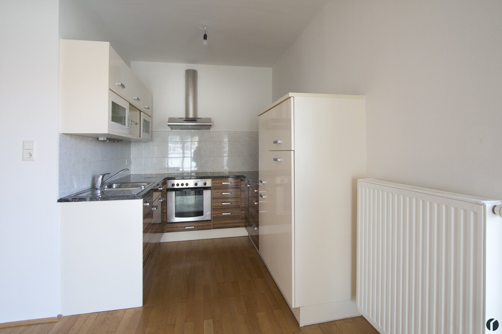 offene Küche im Wohnraum