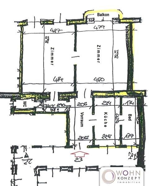 Unbefristeter 89m² Stilaltbau mit Einbauküche und Lift - 1070 Wien /  / 1070Wien / Bild 0