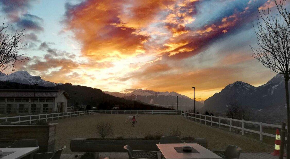 Blickfang über den Dächern von Innsbruck!